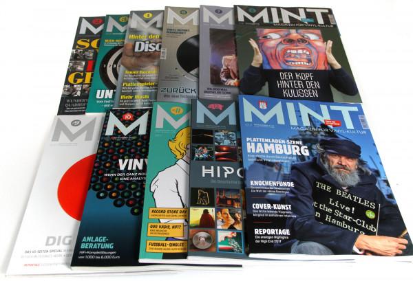 11 Mint Magazine - No.2-4 & No.6-13 (Bundle)