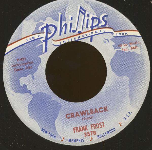 Crawlback b-w Jelly Roll King (45rpm, 7inch)