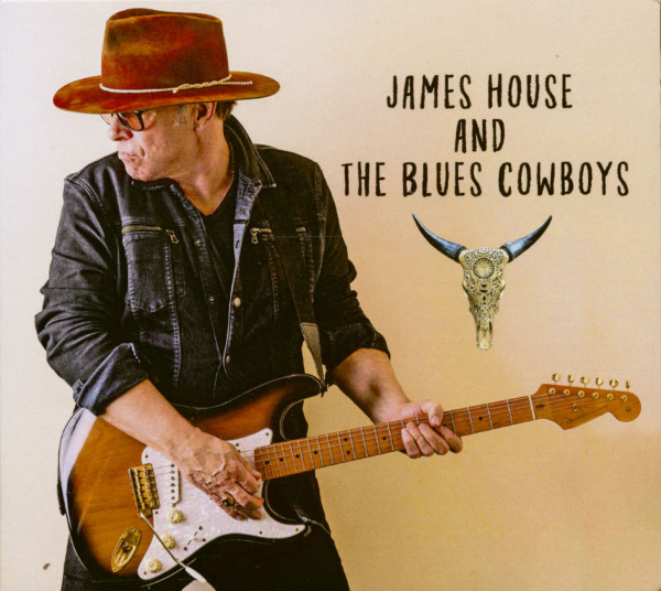 James House And The Blues Cowboys (CD)