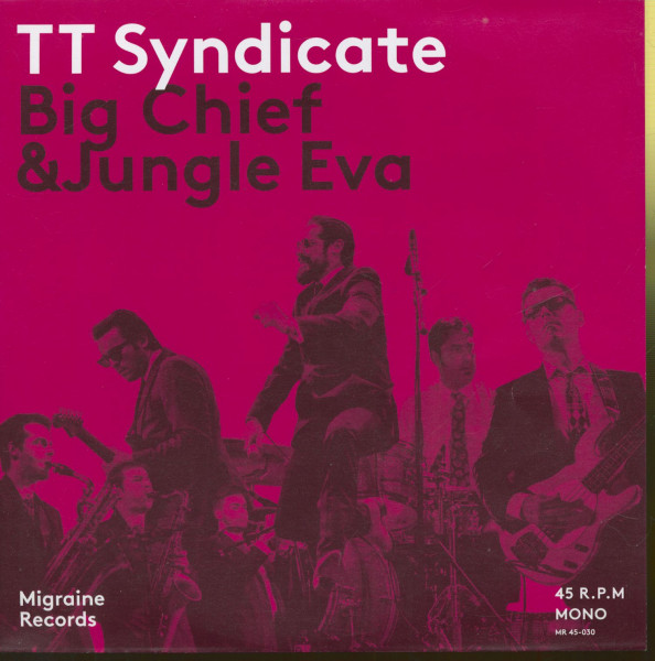 Big Chief - Jungle Eva (45rpm, 7inch, PS, Ltd.)