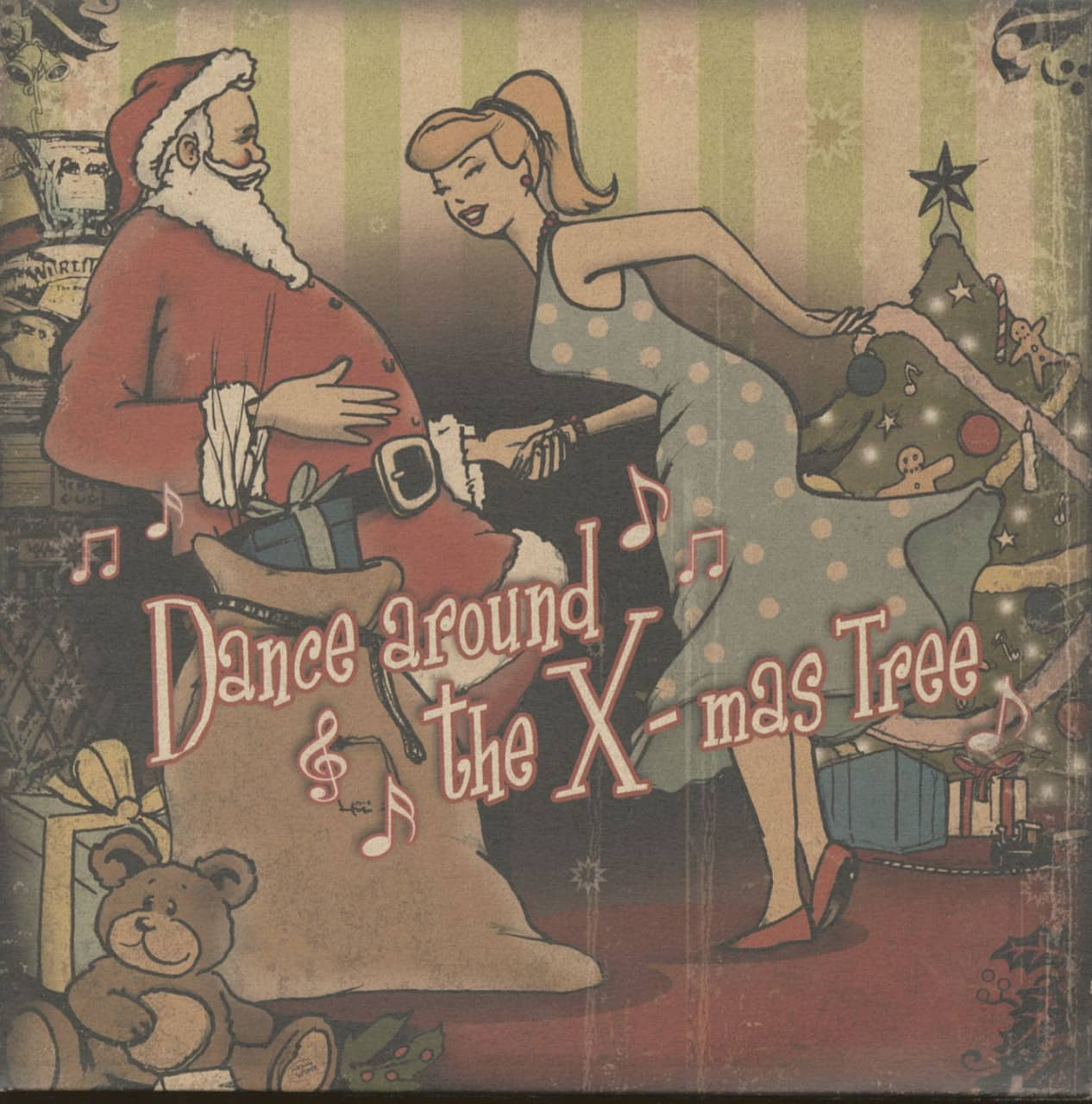 Various - Dance Around The X-mas Tree (LP, Limited Edition)