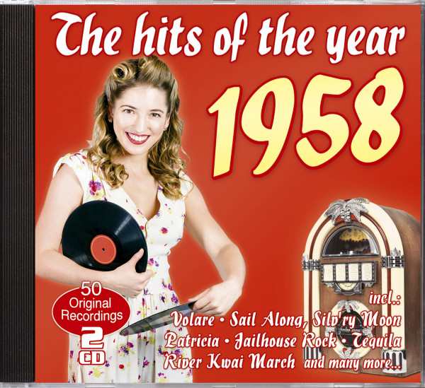 The Hits of The Year 1958 (2-CD)