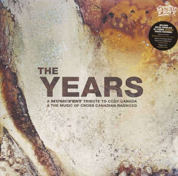 The Years - A Musicfest Tribute To Cody Canada & The Music Of Cross Canadian Ragweed (2-LP & Downloa
