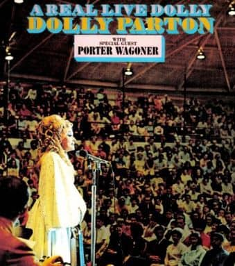 A Real Live Dolly With Porter Wagoner (CD)