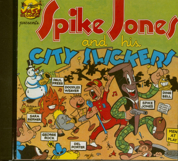 Spike Jones And His City Slickers (CD)