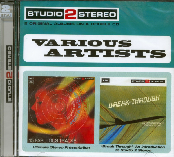 Break Through & Ultimate Stereo (2-CD-Cut-Out)