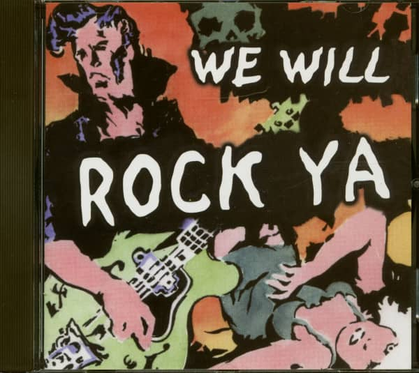 We Will Rock Ya (CD)