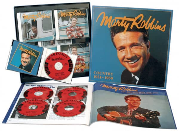 Country 1951-1958 (5-CD Deluxe Box Set)