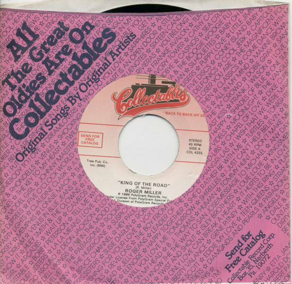 King Of The Road - Spiders And Snakes (7inch, 45rpm, BC, CS)