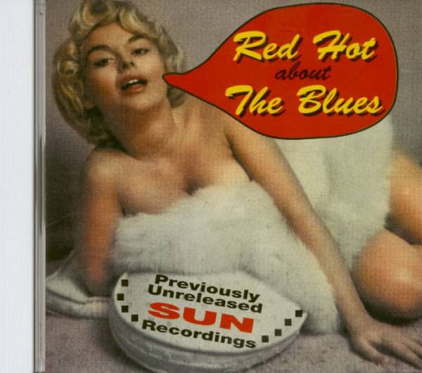 Red Hot About The Blues (CD)