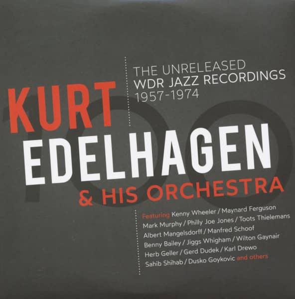 The Unreleased WDR Jazz Recordings 1957 - 1974 (3-LP, 180g Vinyl)