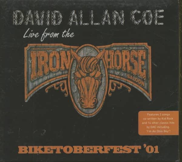 Biketoberfest '01 - Live From The Iron Horse (CD)