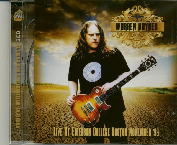 Live At Emerson College Boston November 93 (2-CD)