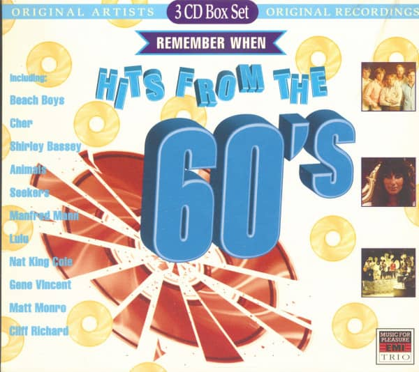 Hits Of The 60's (3-CD)