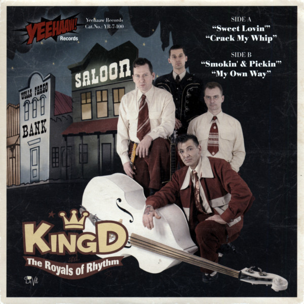 King D And The Royals Of Rhythm 7inch, 45rpm, EP, PS