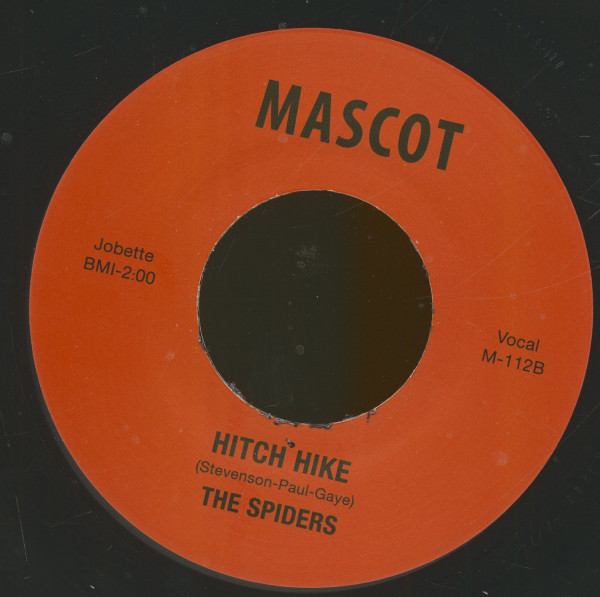 Hitch Hike - Why Don't You Love Me (7inch, 45rpm)