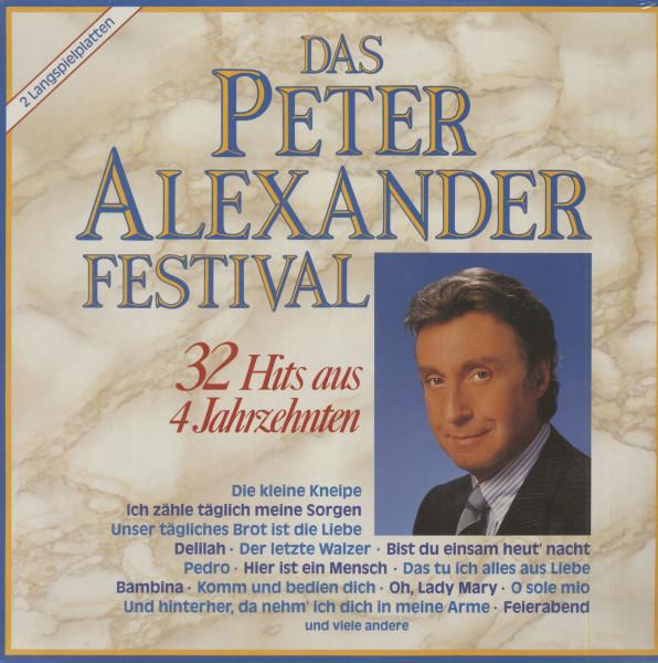 Das Peter Alexander Festival - 32 Hits Aus Vier Jahrzehnten (2-LP)