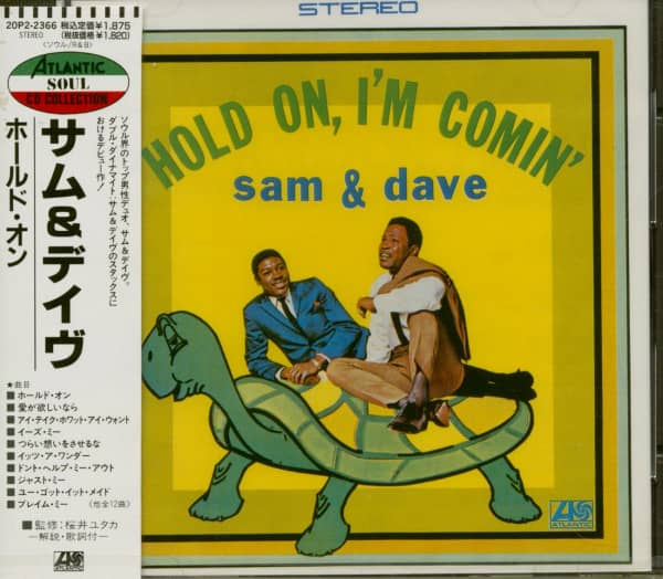 Hold On, I'm Comin' (CD Japan)