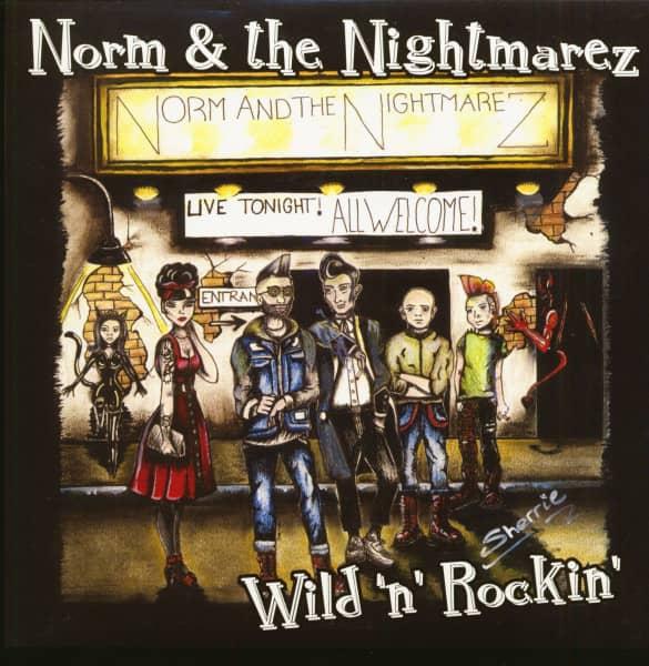 Wild 'n' Rockin' (7inch, EP, 45rpm, PS, Green Vinyl)