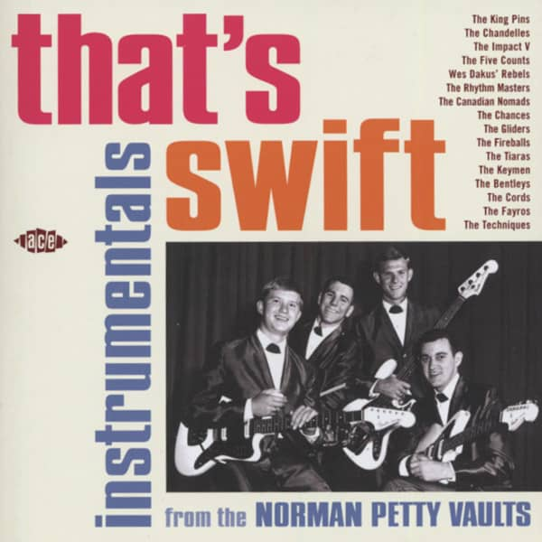 That's Swift - Norman Petty Instrumentals