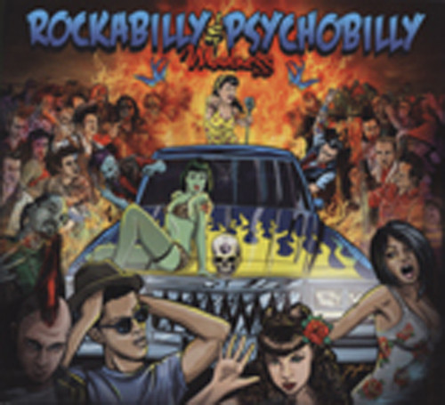 Rockabilly & Psychobilly Madness (2-CD)
