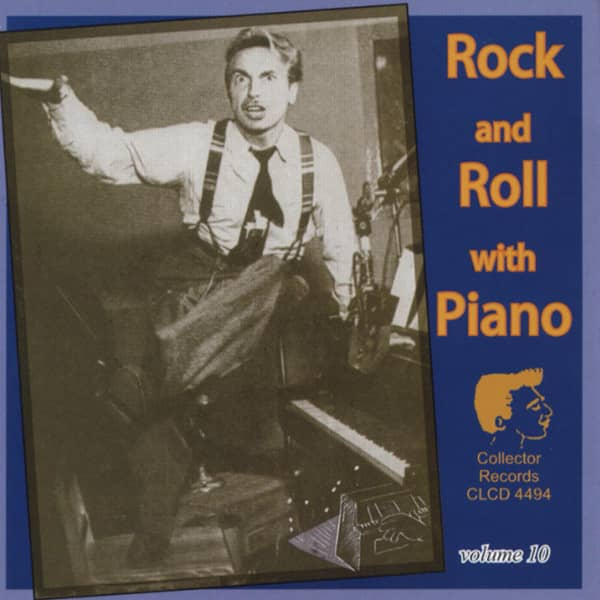 Vol.10, Rock & Roll With Piano
