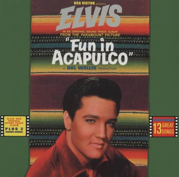"Fun In Acapulco (CD, Deluxe Edition, 7"" Digisleeve)"