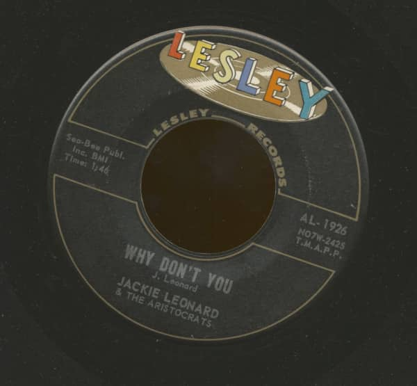 Why Don't You - Another Love (7inch, 45rpm)