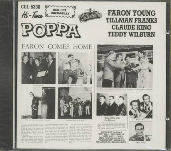 Hi Tone Poppa - Faron Young And Others (CD)