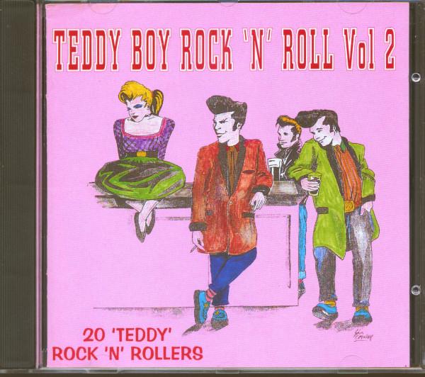 Teddy Boy Rock'n'Roll Vol.2 - 20 Hot Teddy Rock'n'Rollers (CD)