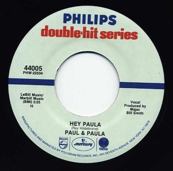 Hey Paula - Something Old, Something New 7inch, 45rpm