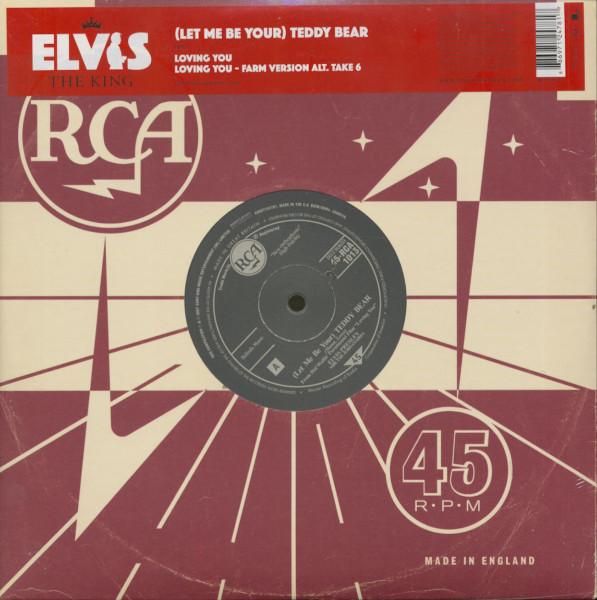 The King, Vol.5 - Teddy Bear (10inch, 45rpm, EP)