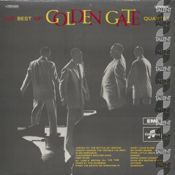The Best Of Golden Gate Quartet (LP)