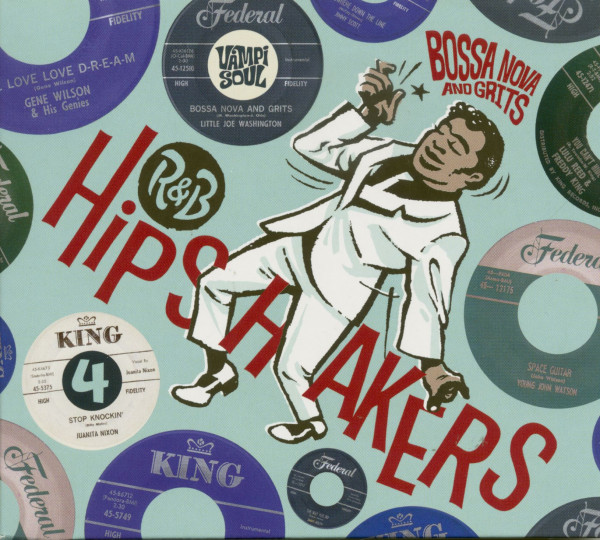 R&B Hipshakers Vol.4 - Bossa Nova And Grits (CD)
