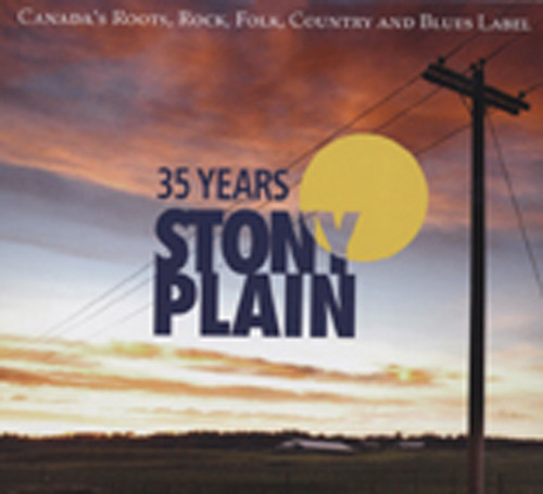35 Years Of Stony Plain (2-CD plus bonus DVD)