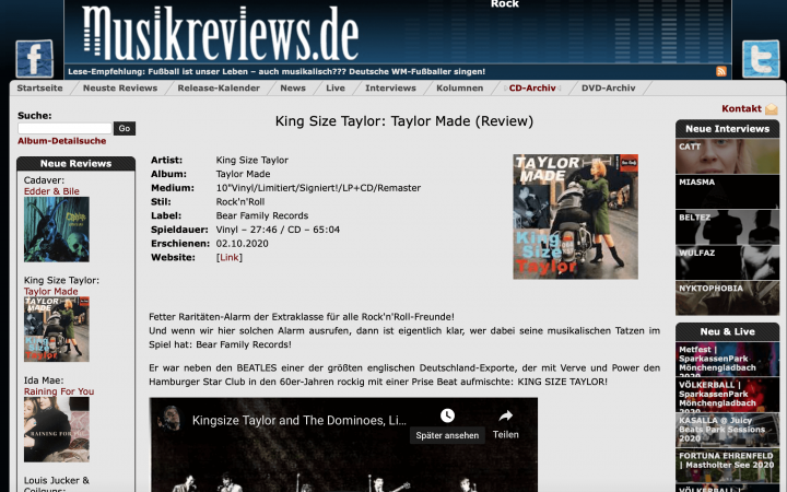 Press-Archive-King-Size-Taylor-Dr-Feelgood-Taylor-Made-LP-LP-10inch-musikreviews