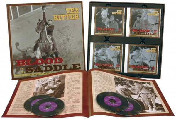 Blood On The Saddle 4-CD-Box & 44-Page Book