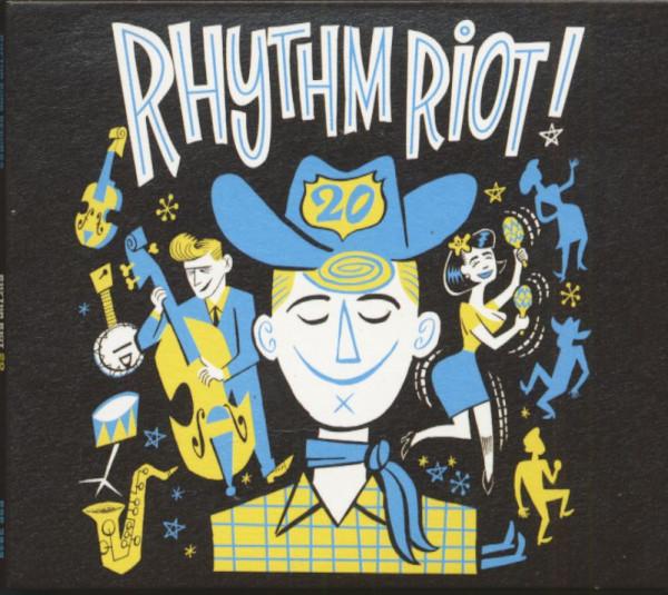 Rhythm Riot! - 20th Anniversary (CD, Ltd.)