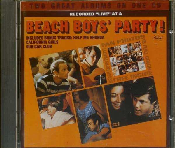 Beach Boys's Party - Stack O Tracks (CD)