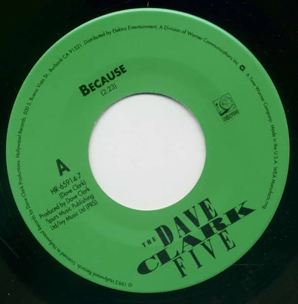 Because - Everybody Knows 'I Still Love You' (7inch Single, BC)
