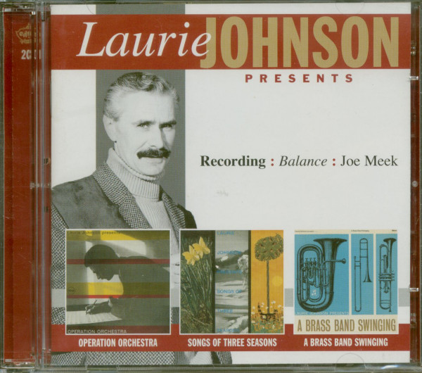 Laurie Johnson Presents (2-CD)