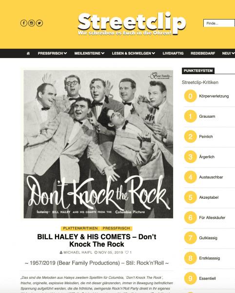 Presse-Archiv-Bill-Haley-His-Comets-Don-t-Knock-The-Rock-Streetclip