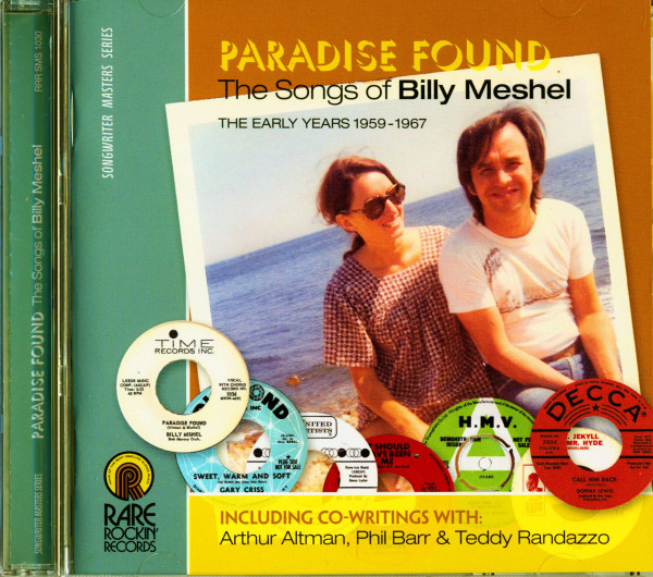 Paradise Found - The Songs Of Billy Meshel