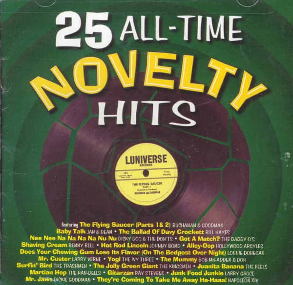 25 All Time Novelty Hits (US)