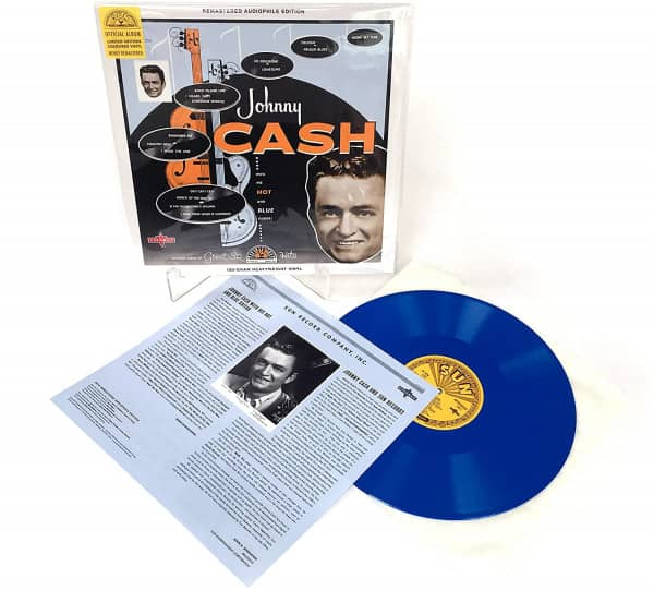 With His Hot And Blue Guitar! (LP, 180g Blue Vinyl, Ltd.)