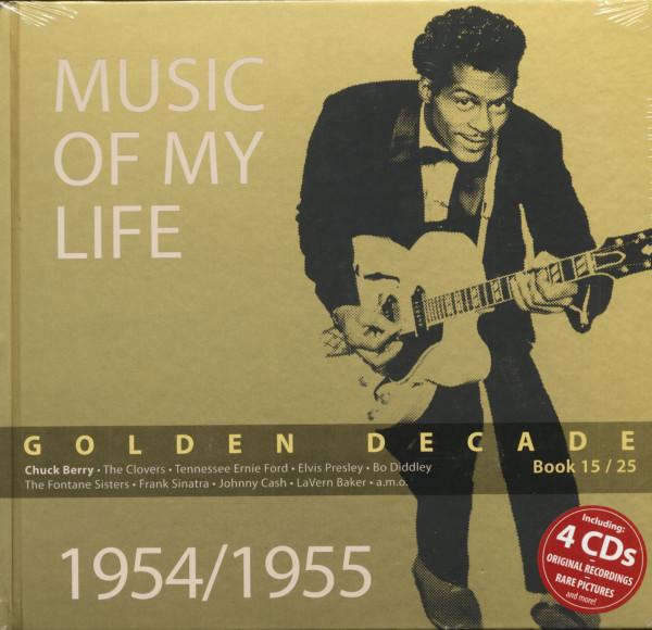Golden Decade Vol.15 - 1954/1955 (Book & 4-CD)