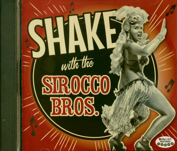 Shake With The Sirocco Brothers (CD)