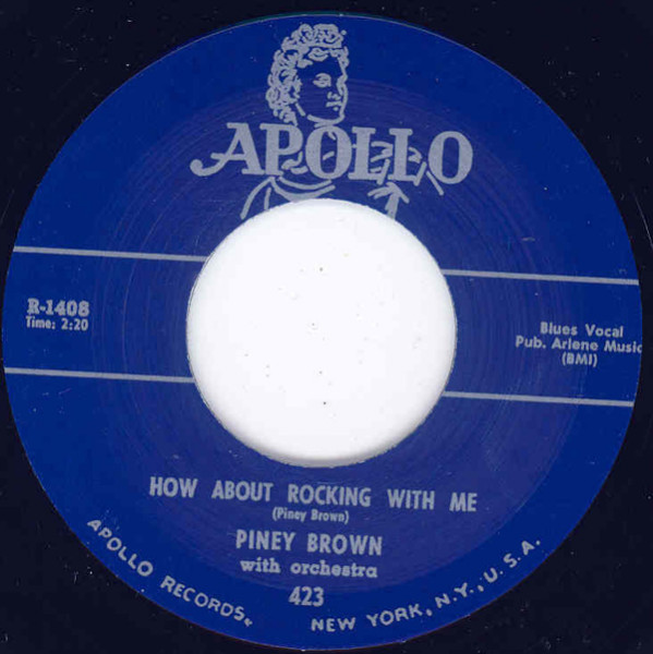 How About Rocking With Me b-w That's Right Baby 7inch, 45rpm