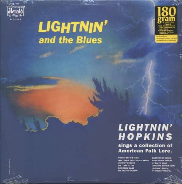 Lightnin' And The Blues (LP, 180g Vinyl, Ltd.)