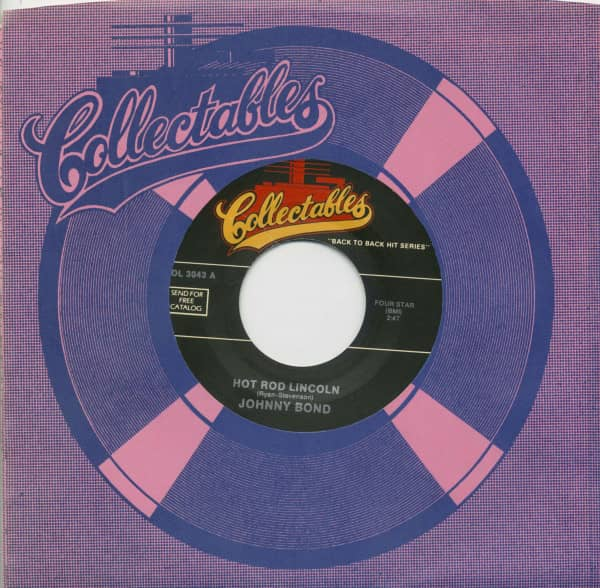 Hot Rod Lincoln - Six Days On The Road (7inch, 45rpm, BC, CS)